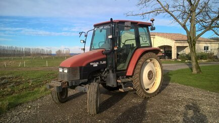 Tracteur agricole New Holland TL80 2RM - 1
