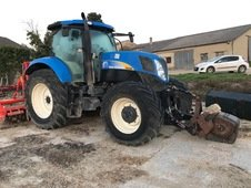 Tracteur agricole New Holland T 6080 ACTIVE POWER COMMAND